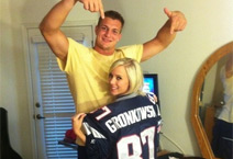 "Rob Gronkowski ""Spends Time"" with Porn Star Bibi Jones During Bye Week"