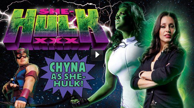 Chyna Stars in 'She-Hulk XXX: An Axel Braun Parody'