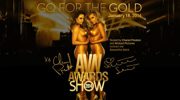 Chanel Preston & Samantha Saint To Co-Host 2014 AVN Awards