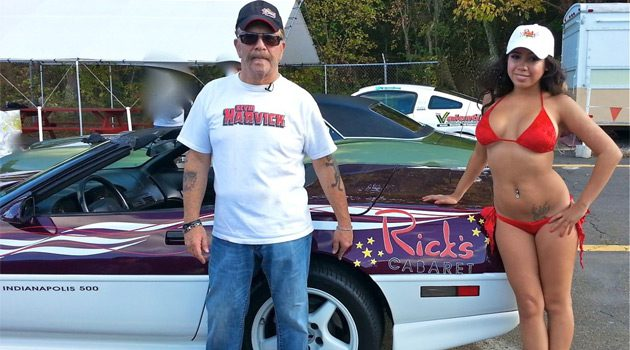 Ronnie The Limo Driver's Corvette Pace Car Featured On Howard TV
