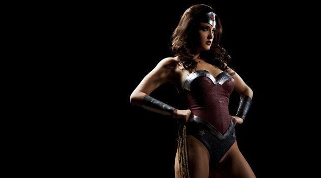 Kimberly Kane Looks Smoking Hot In 'Wonder Woman XXX' Costume