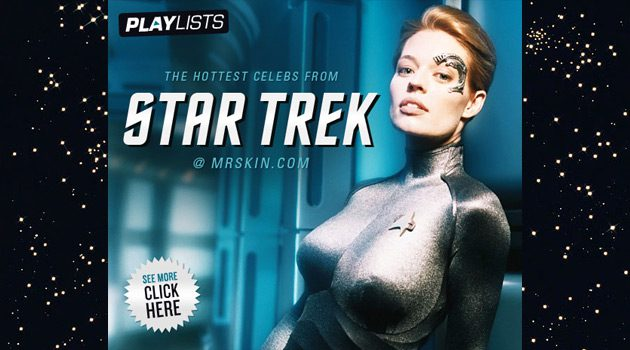 The Hottest Celebs From Star Trek