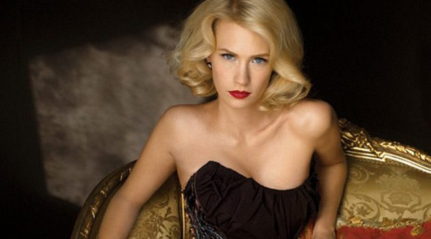 See January Jones Topless In Sweetwater