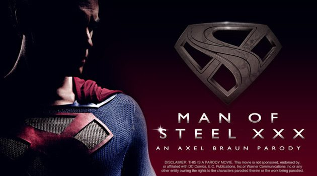 Axel Braun & Vivid Release 'Man Of Steel XXX' Parody