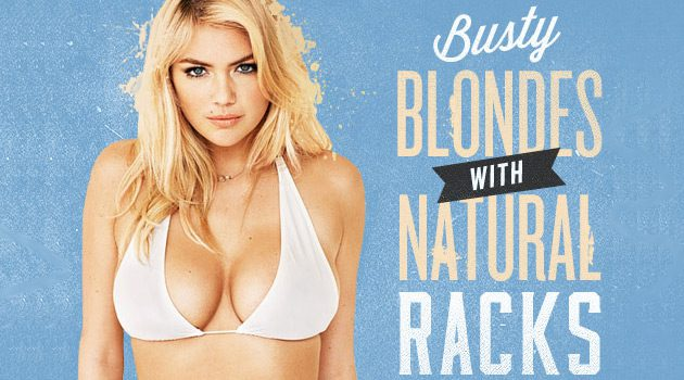 Busty Blondes with Natural Racks