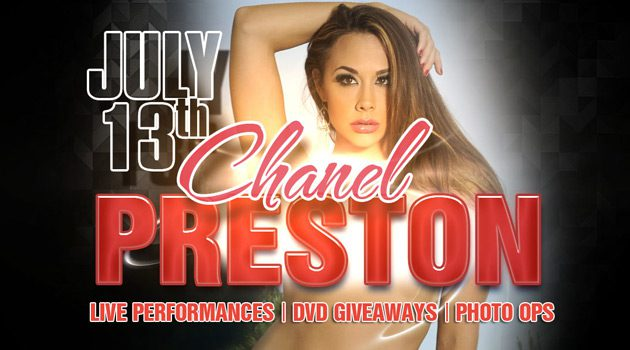 Chanel Preston Makes One-Night-Only Appearance at Sapphire New York