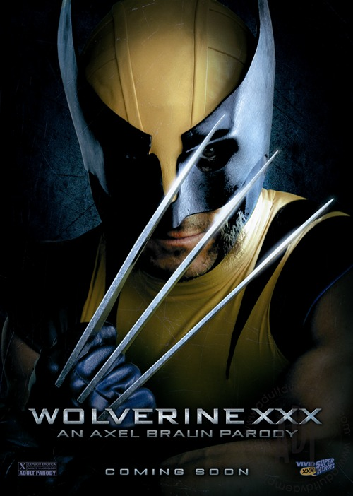Wolverine XXX Poster