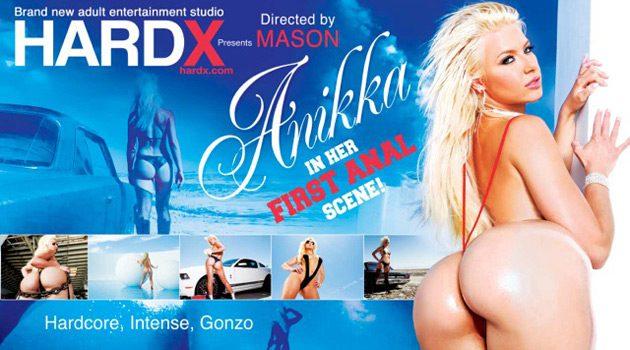 Anikka Albrite's 1st Anal Scene Revealed In Hard X's New Trailer