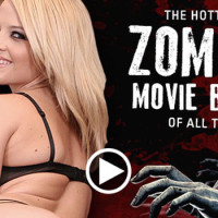 The Hottest Zombie Movie Babes Nude