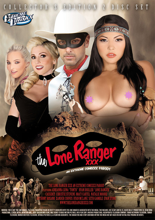 The Lone Ranger XXX cover
