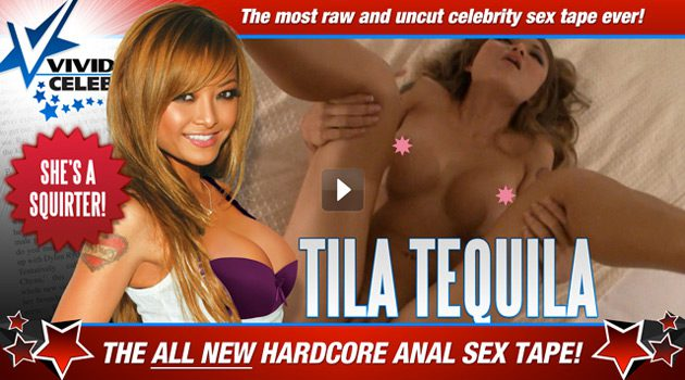 Vivid Releases New Tila Tequila Sex Tape