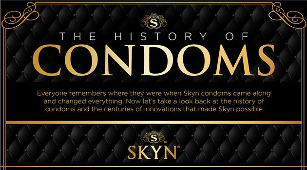 The History Of Condoms (Infographic)