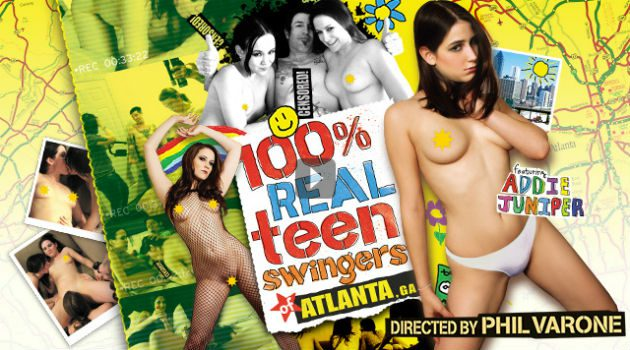 Teens Go Wild in Phil Varone's Newest Vivid Movie '100% Real Teen Swingers: Atlanta'