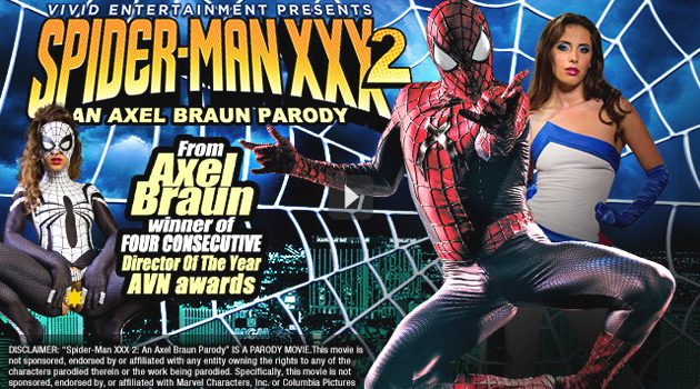 Skip The Movies And Watch 'Spider-Man XXX 2' On Vivid.com Instead