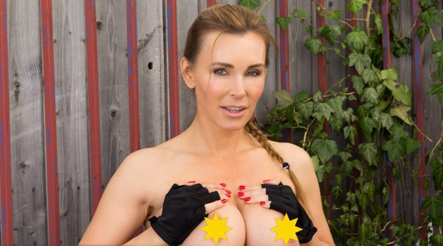 Tanya Tate Gears Up In Gamer Style For Cosplay Cover Of Fiesta Magazine