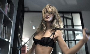 Rosie Huntington-Whiteley Gets Pissed Off, Strips And Gives A Lap Dance