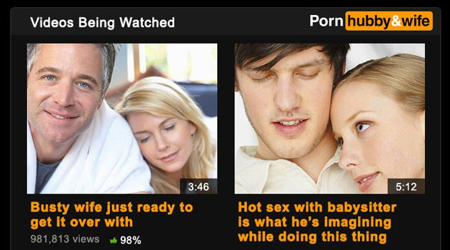 If Porn Was Based On The Sex Lives Of Married Couples