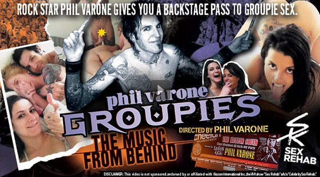 'Phil Varone Groupies: The Music From Behind' Released Today On Vivid.com