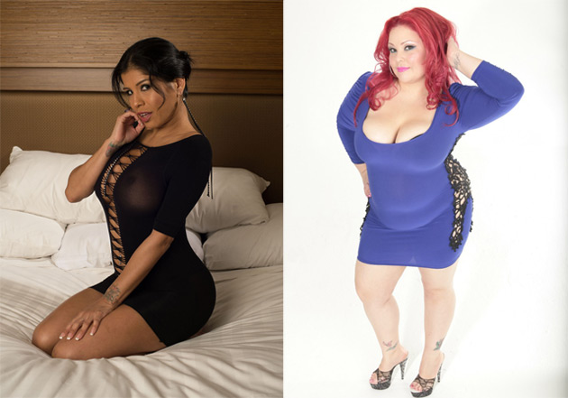 Alexis Amore and April Flores