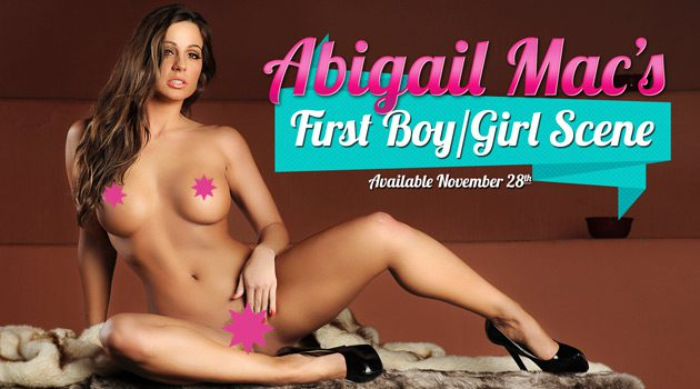 Digital Playground Shoots Abigail Mac's First Boy/Girl Scene!
