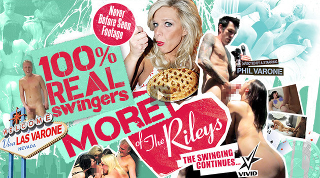 "Vivid Releases ""100% Real Swingers: More of the Rileys"""