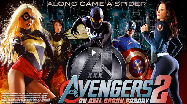 'Avengers XXX 2: An Axel Braun Parody' Released Today On Vivid.com