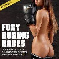 Foxy Boxing Babes at Mr. Skin