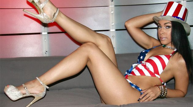 Strippers Bursting With Patriotism For Fourth Of July