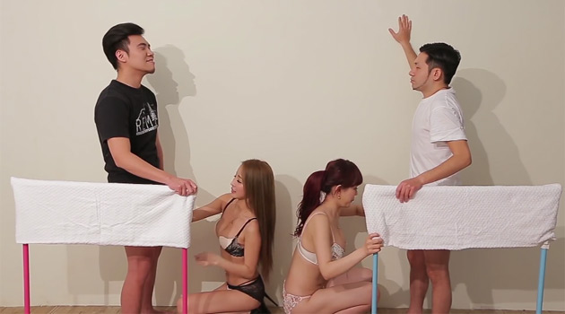Women Race To Jerk Guys Off The Fastest In 'The Handjob Competition' TV Show