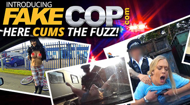 Here Cums The Fuzz.. Literally, With The Launch Of FakeCop.com