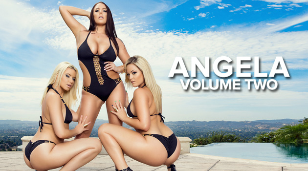 Angela White Is More Hardcore Than Ever In 'Angela: Volume Two'