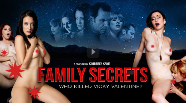 Vivid Releases Kimberly Kane's Dramatic Adult Suspense Feature 'Family Secrets'