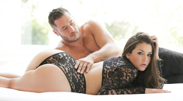 Check Out Allie Haze's Stunning Ass On The Cover Of 'Pure Desire: Vol 5'