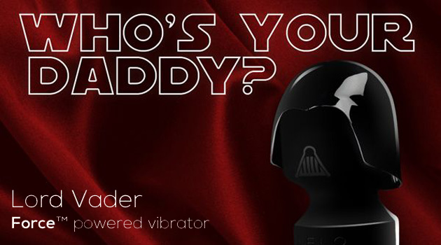 She'll Cum Over To The Dark Side With This Darth Vader Vibrator!