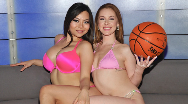 Rick's Cabaret Girls Get Into The Spirit Of March Madness