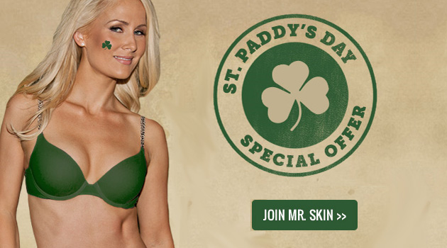 Celebrate St. Patrick's Day With Mr. Skin