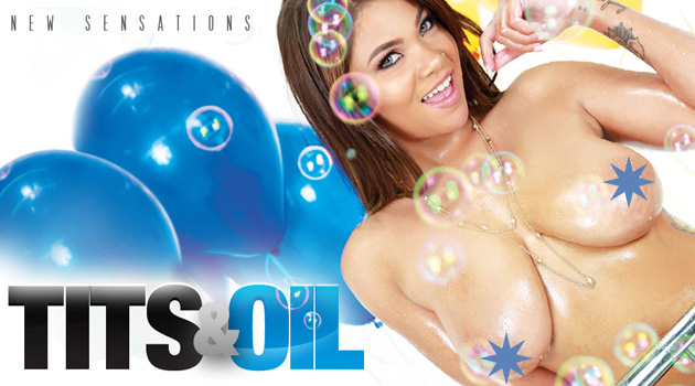 New Sensations Releases 'Tits & Oil'