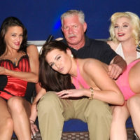 Baseball Bad Boy Lenny Dykstra Parties With Vivid Cabaret NY Strippers