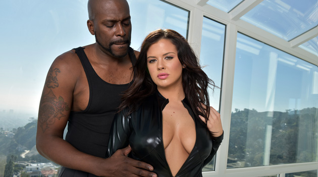 "Dark X's New Series ""Busty Interracial"" Features Curvy Girls Taking BBC"