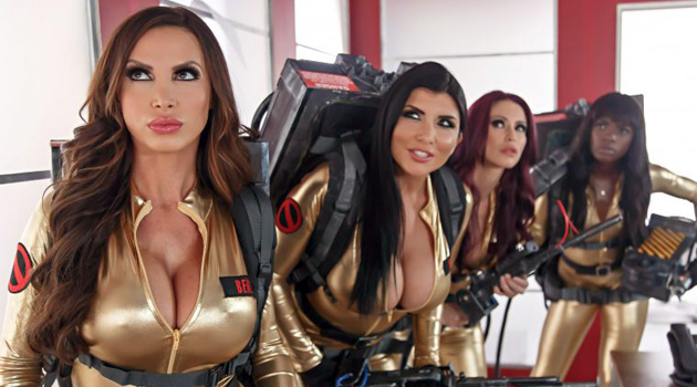 Brazzers Unveils X-Rated Ghostbusters Parody Called 'The Nutbuster'