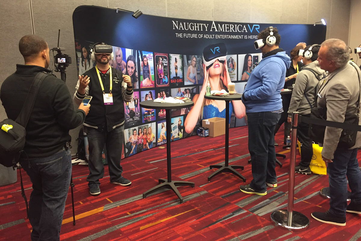 Naughty America VR at CES