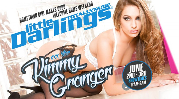Kimmy Granger Feature Dancing At Little Darlings Lemon Grove This Weekend