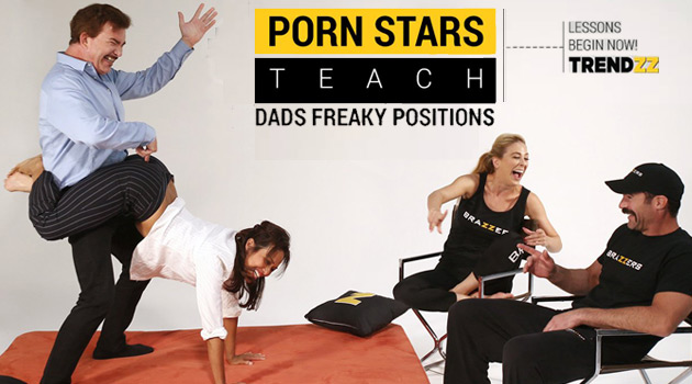 Brazzers Treats Dads To Freaky Lessons From Porn Stars This Father's Day
