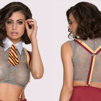 Ladies, Dress Up In This Sexy Harry Potter Lingerie And Cast A Bewitching Spell