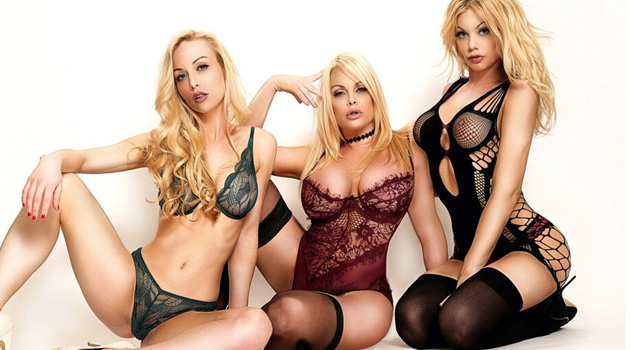 Kayden Kross, Jesse Jane, Riley Steele Join Forces in TRENCHCOATx's 'Outro'