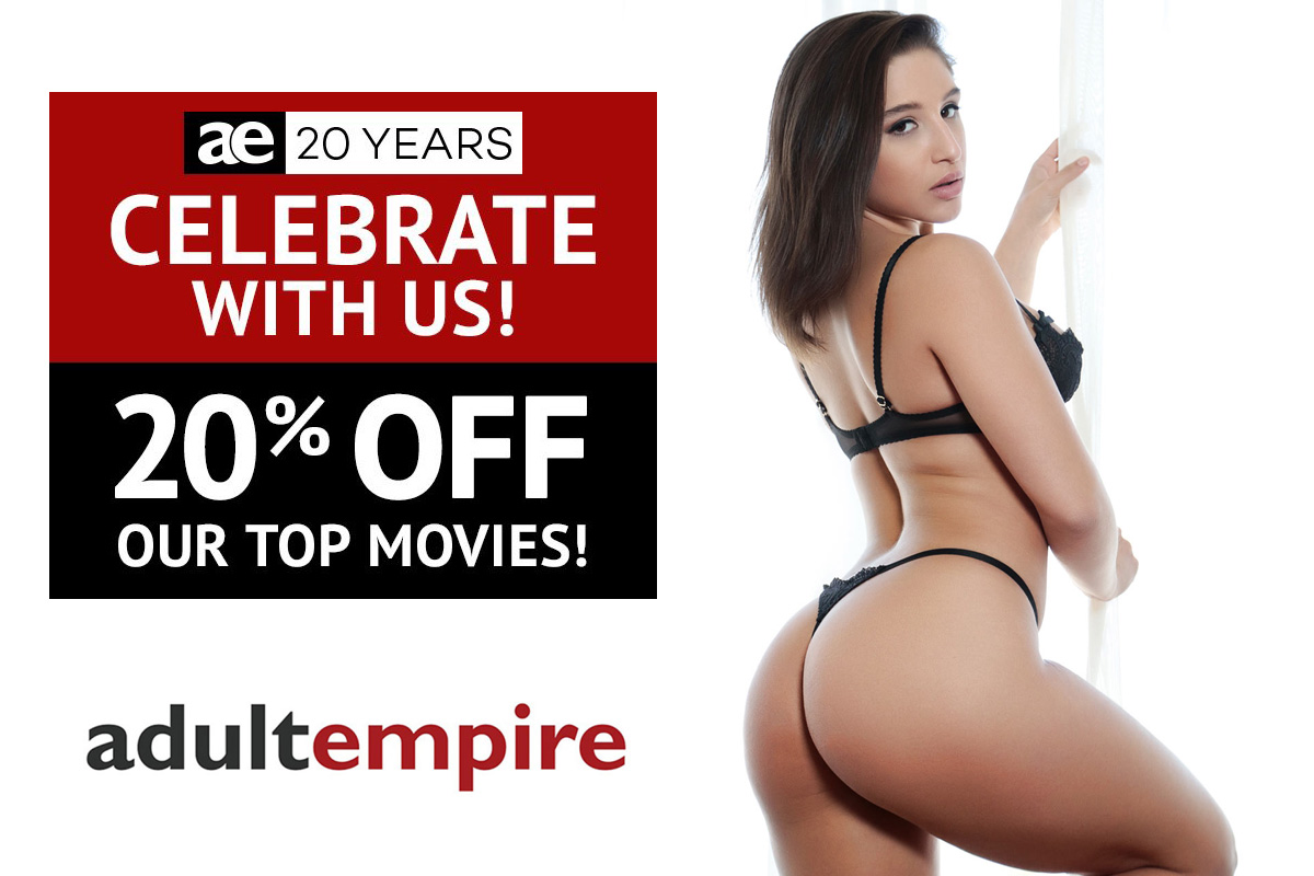 Adult Empire's 20th Anniversary Sale