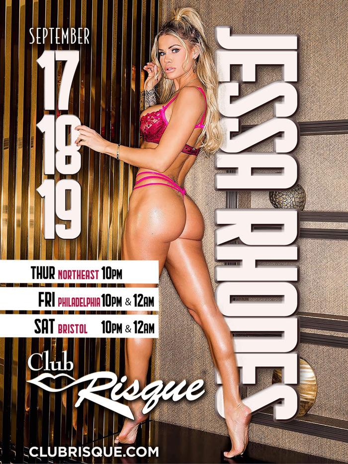 Jessa Rhodes - Club Risque Poster
