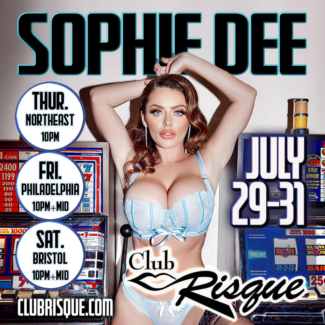 Club Risque - Sophie Dee July 2021
